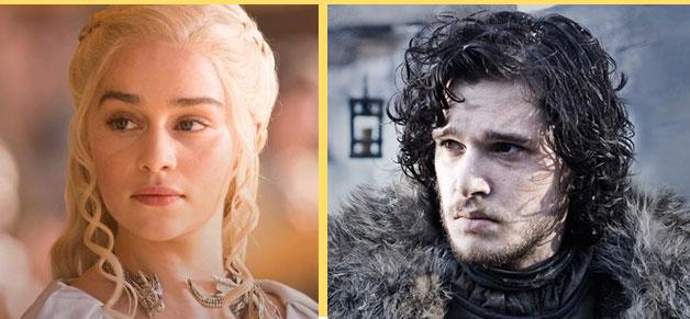 Daenerys Targaryen, Jon Snow